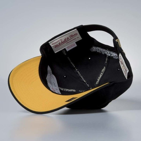 "Czapka Mitchell & Ness strapback Los Angeles Lakers ""WEST"" black Small Jersey"