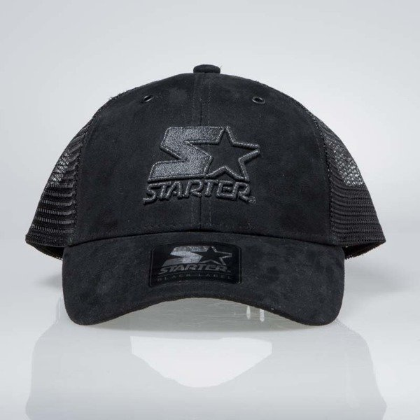 Czapka Starter snapback Shot Mesh Back Pitcher Cap black ST-SHOT-3004