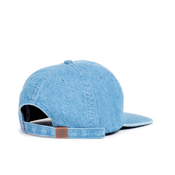 Czapka Strapback Herschel Albert faded denim (1020-0150)