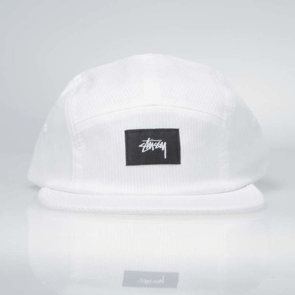 Czapka Stussy 5Panel Seersucker Camp Cap white