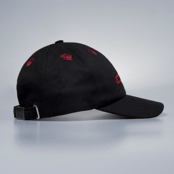Czapka strapback Mass Denim Sport Cap Rose black QUICKSTRIKE