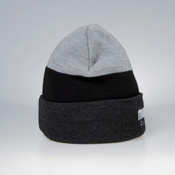 Czapka zimowa Mass Denim Division Beanie heather grey