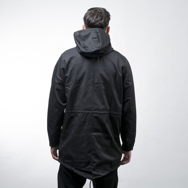 Elade kurtka Parka Elade Co. black / orange