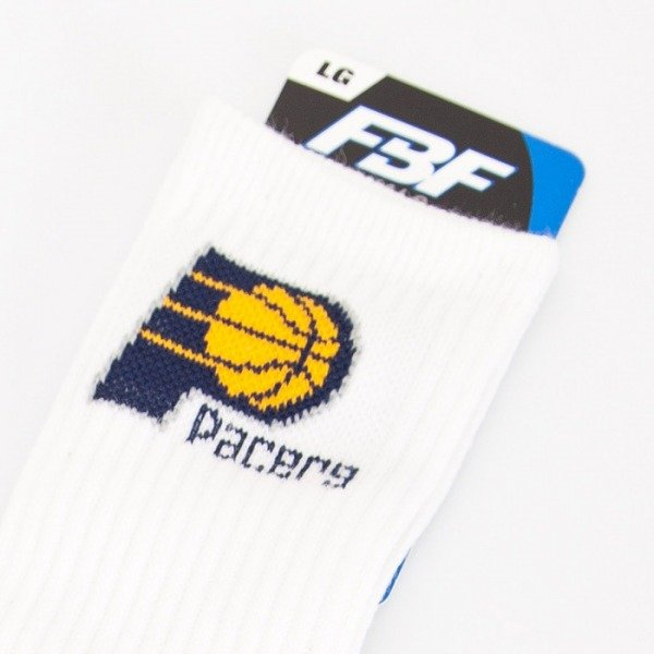 FBF skarpety NBA Indiana Pacers A506 White