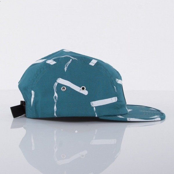 HUF czapka 5-panel Smokes Volley teal
