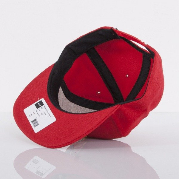 HUF czapka snapback Badge red