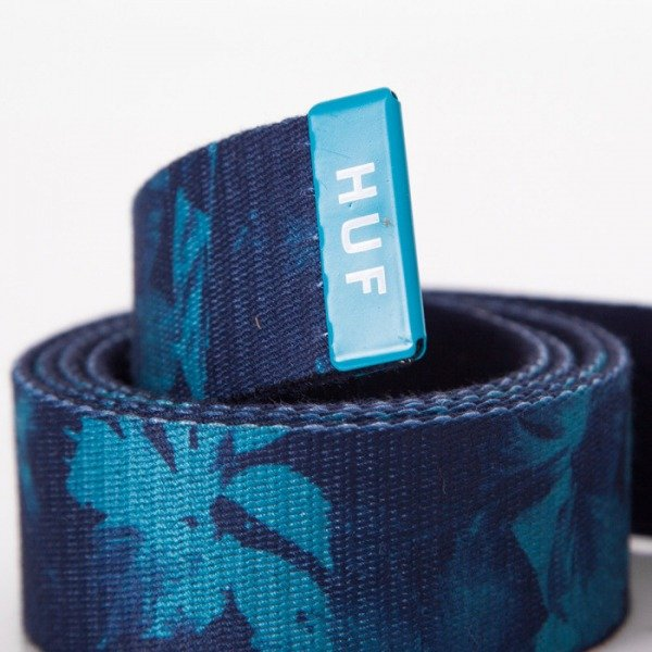 HUF pasek Floral Scout navy