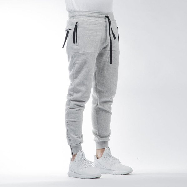 Intruz spodnie dresowe Sweatpants light heather grey