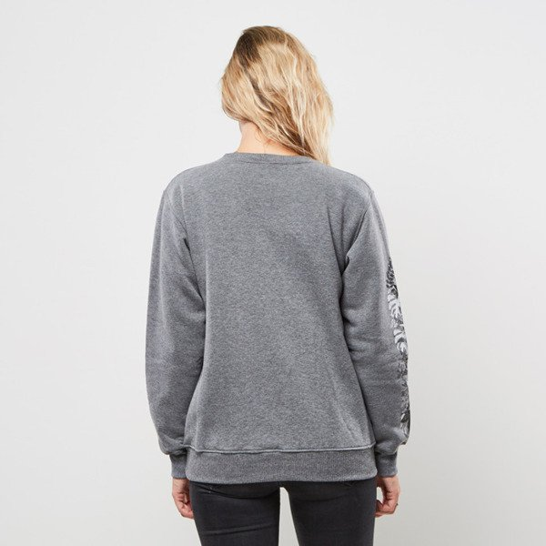 Jungmob bluza crewneck Jungle Mess grey