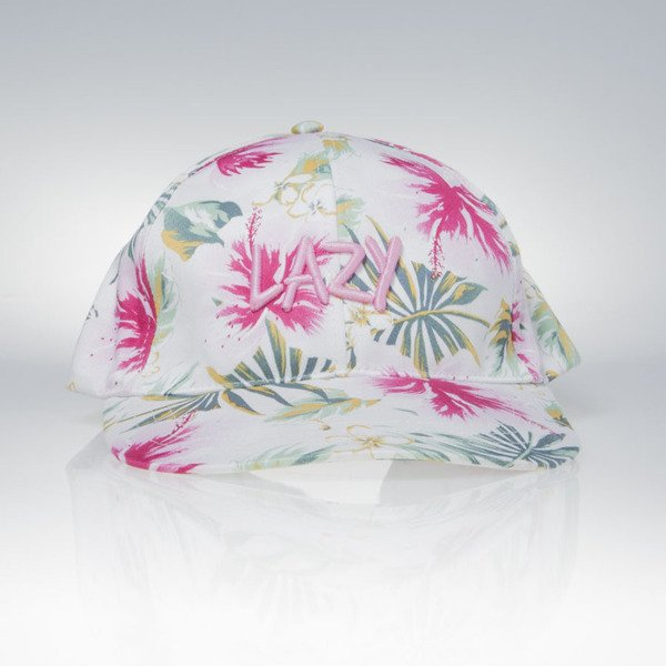 Jungmob czapka snapback Lazy Jungle Cap white / multicolor