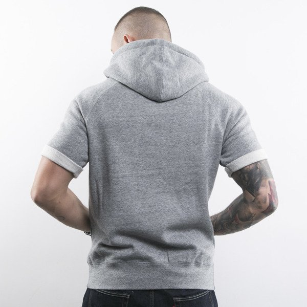 K1X bluza Authentic Cropped Hoody grey heather (1153-2151/8801)