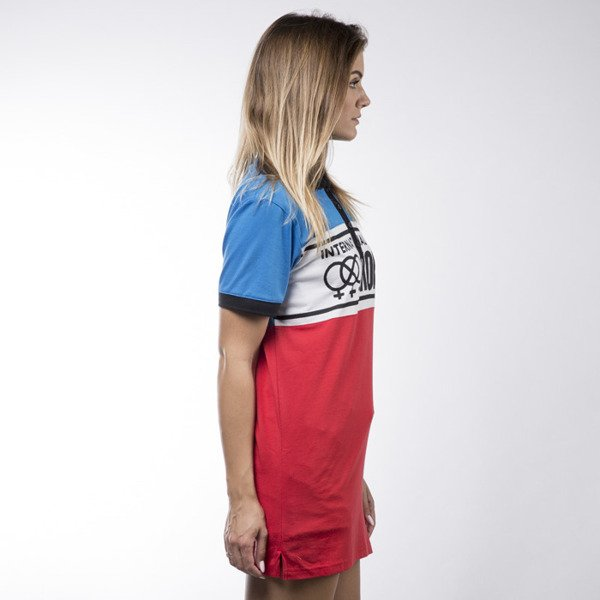 Koka tunika International Polo Dress blue / white / red