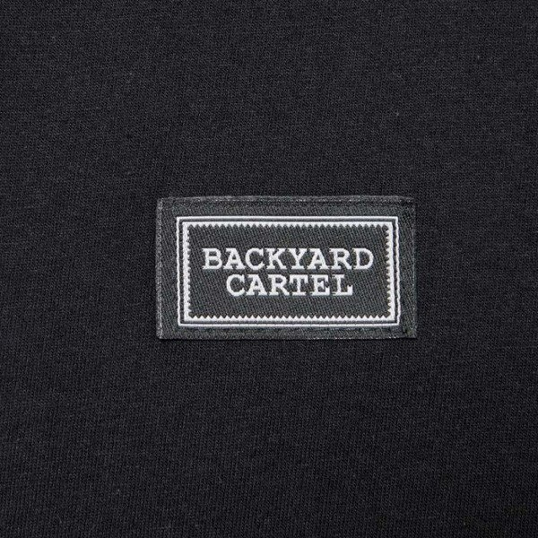 Koszulka Backyard Cartel T-Shirt Label Logo black