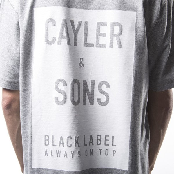 Koszulka Cayler & Sons BL CSBL Reversed Long Tee grey heather / white (BL-CAY-SS16-AP-21)