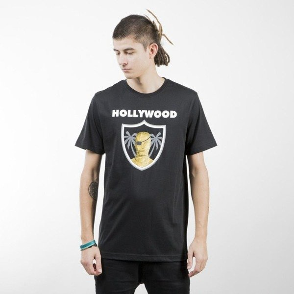 Koszulka Cayler & Sons Hollywood black / white / gold CAY-AW13-AP-21-01
