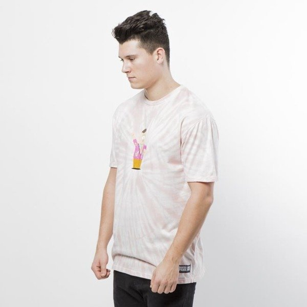 Koszulka Huf SP Big Gay Al Tie Dye T-shirt pink SOUTH PARK EDITION
