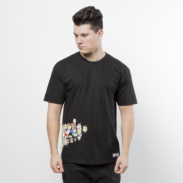 Koszulka Huf SP Opening T-shirt black SOUTH PARK EDITION