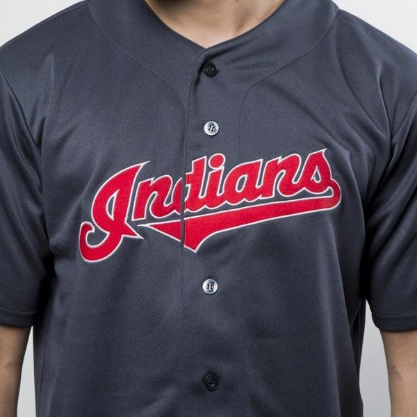 Koszulka Majestic Athletic MLB Replica Jersey Clevelands Indians navy