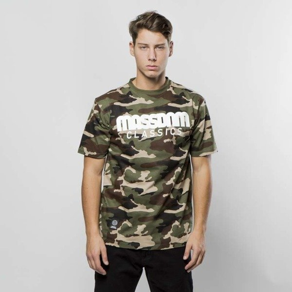 Koszulka Mass Denim T-shirt Classics woodland camo