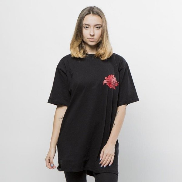 Koszulka Mass Denim T-shirt Rose WMNS black QUICKSTRIKE