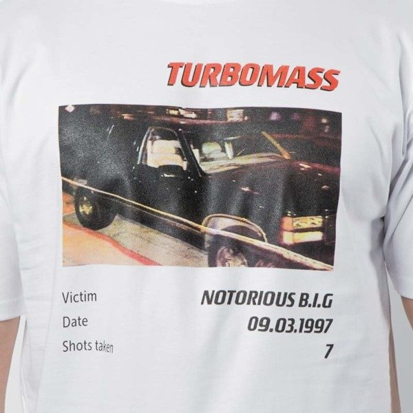 Koszulka Mass Denim Turbo Notorious B.I.G. T-shirt white