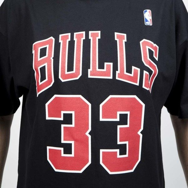 Koszulka Mitchell & Ness Chicago Bulls #33 Scottie Pippen black Name & Number Traditional