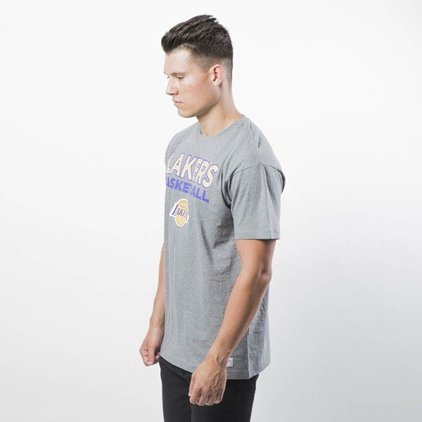 Koszulka Mitchell & Ness Los Angeles Lakers T-shirt grey Pure Shooter Tee