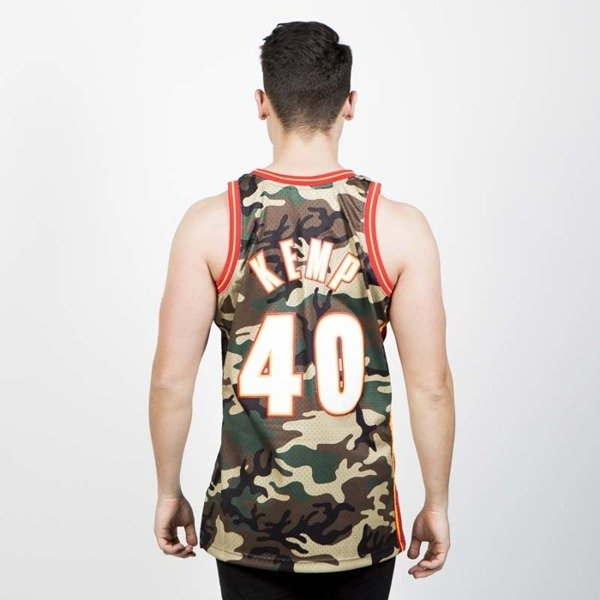 Koszulka Mitchell & Ness Seattle Supersonics #40 Shawn Kemp camo Swingman Jersey