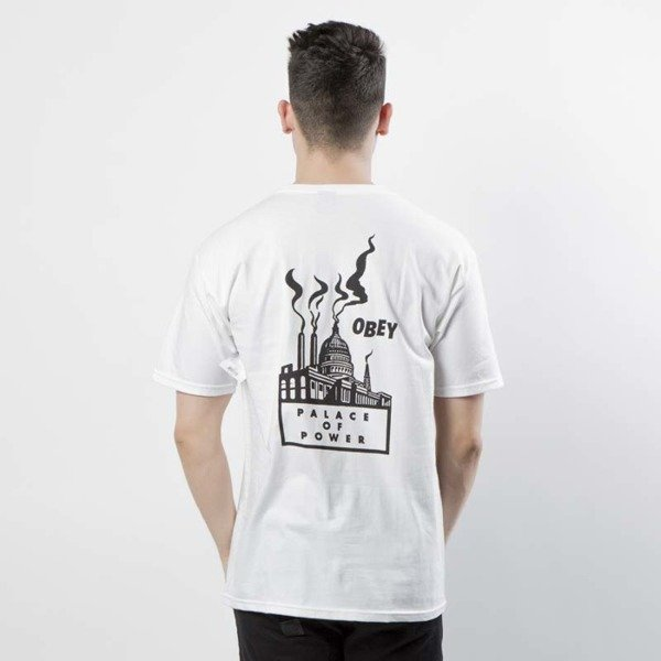 Koszulka Obey Palace Of Power T-shirt white