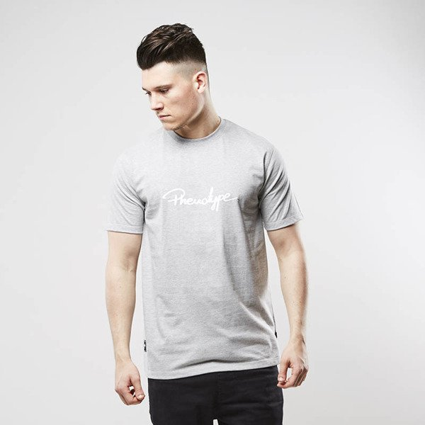 Koszulka Phenoype t-shirt Logo Tee heather grey