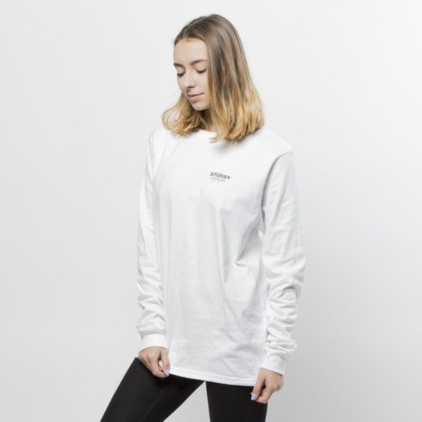 Koszulka Stussy longsleeve All Fruits Ripe LS Tee WMNS white