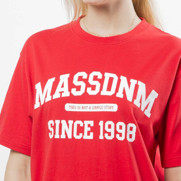 Koszulka damska Mass Denim Campus T-shirt WMNS red