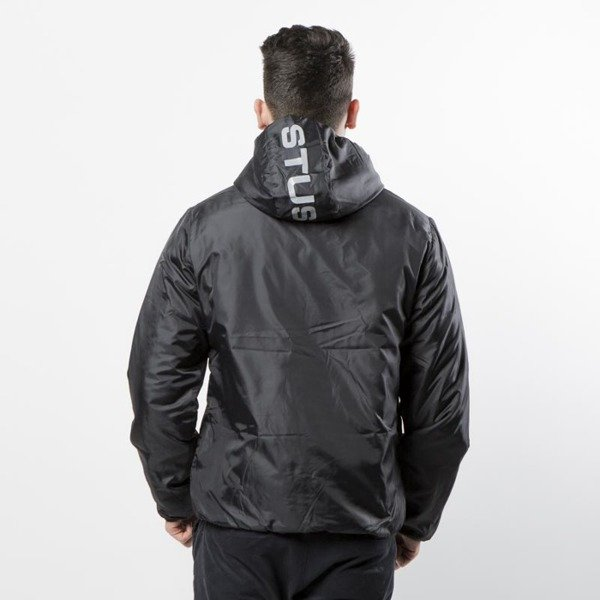 Kurtka Stussy Reversible Nylon Jacket black