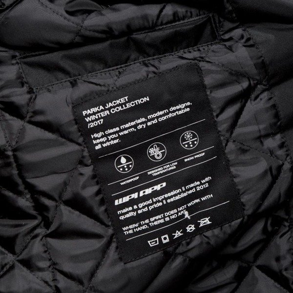 Kurtka We Peace It Parka Jacket Saorsa black