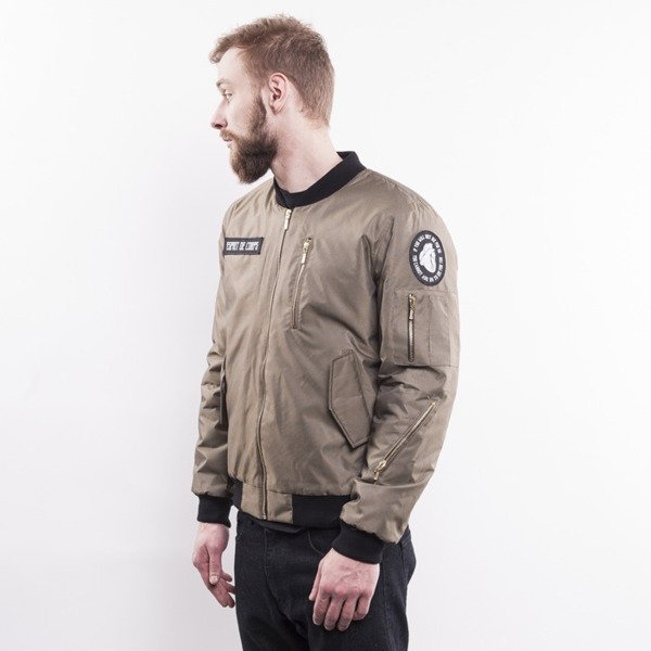 Life/Stab kurtka Join or Die Bomber olive