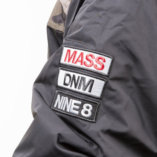 Mass Denim BLAKK kurtka zimowa winter jacket Conversion Parka black