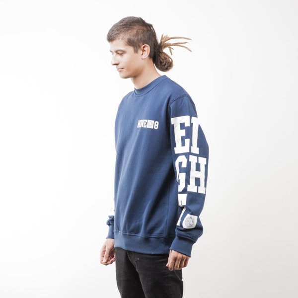 Mass Denim bluza sweatshirt 9 Eight crewneck navy