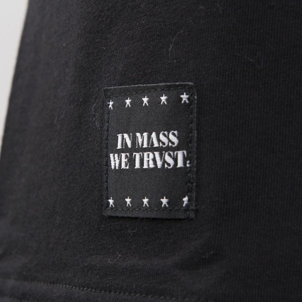 Mass Denim koszulka Sensei long fit black BLAKK