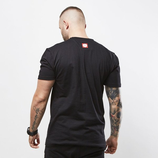 Mass Denim koszulka T-shirt Impress black SS 2017