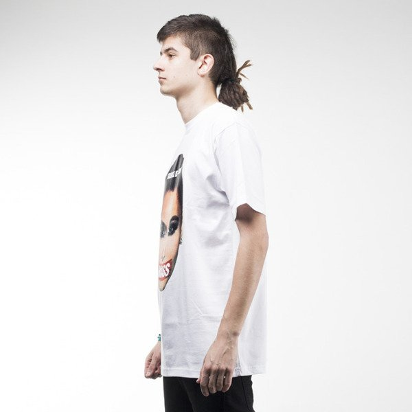 Mass Denim koszulka t-shirt Silence white
