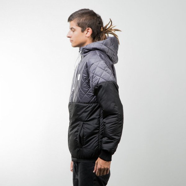 Mass Denim kurtka zimowa winter jacket Base Cut grey / black