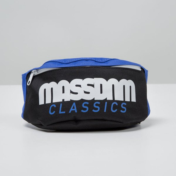 Mass Denim saszetka hipcase Classics Cut black / blue