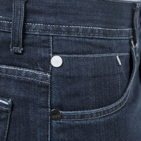 Mass Denim spodnie Jeans Mind tapered fit dark blue