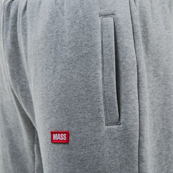 Mass Denim spodnie dresowe sweatpants Cover regular fit light heather grey