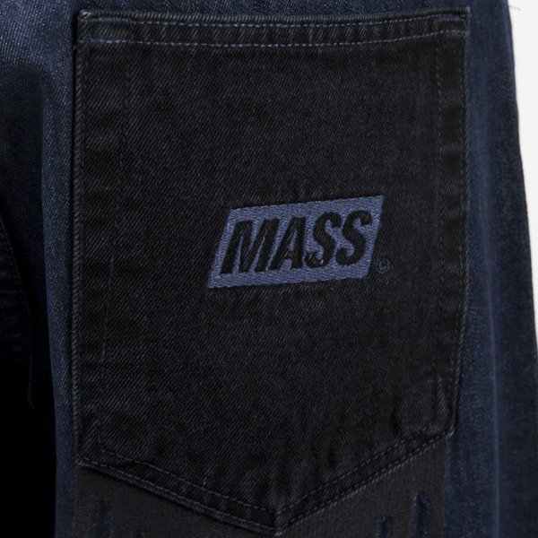 Mass Denim spodnie jeans Pocket Cover baggy fit rinse