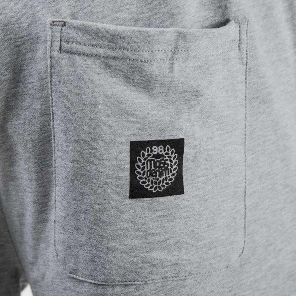 Mass Denim szorty sweatshorts Outsized light heather grey