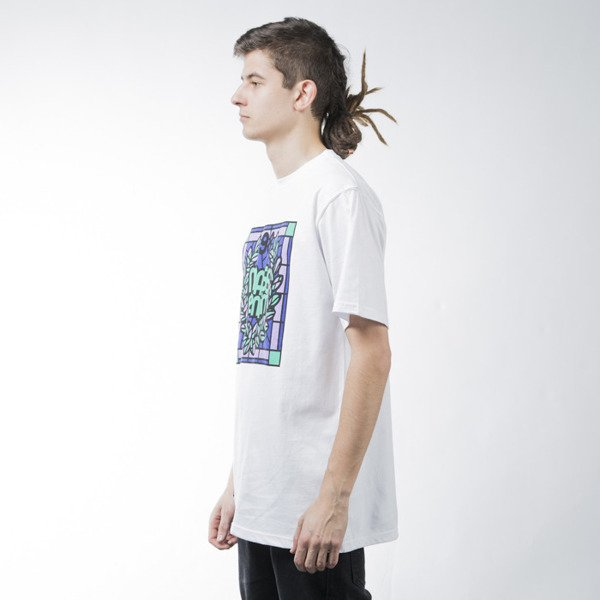 Mass Denim t-shirt koszulka Glassy white