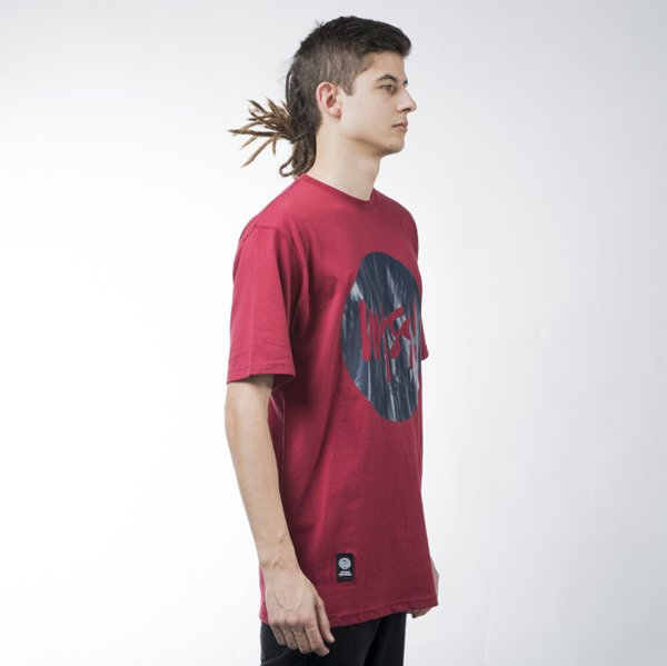 Mass Denim t-shirt koszulka Signature claret