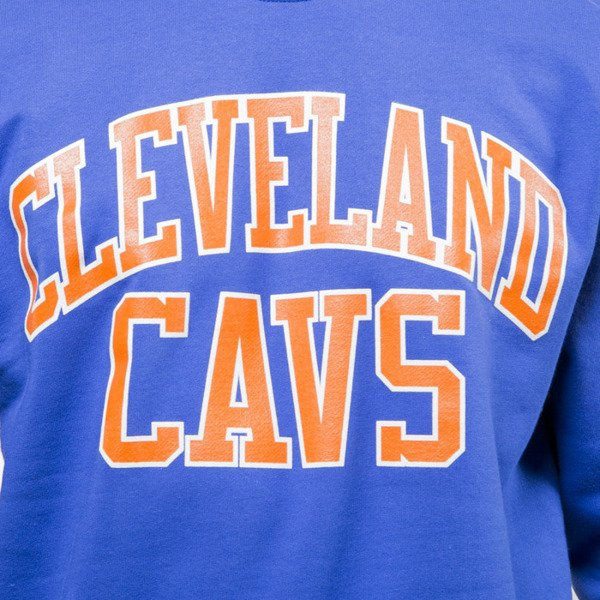 Mitchell & Ness bluza sweatshirt Clevelad Cavaliers crewneck royal NBA START OF THE SEASON