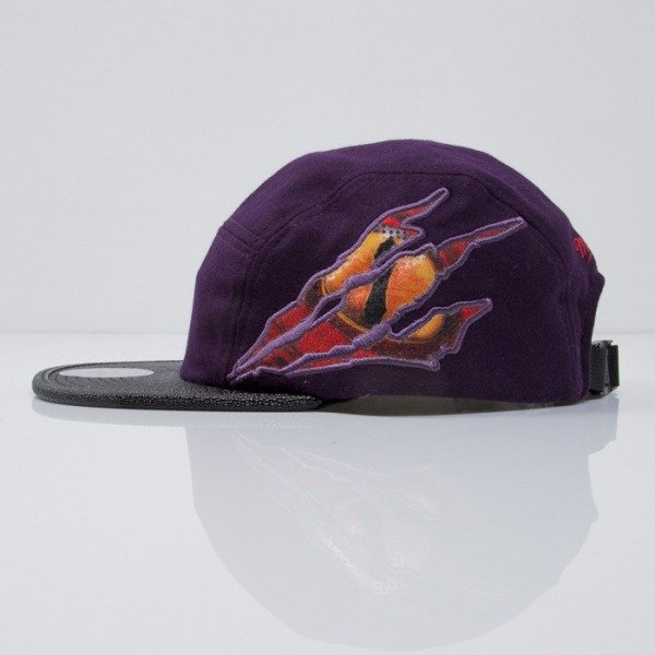 Mitchell & Ness czapka 5 panel Toronto Raptors purple  Y445Z